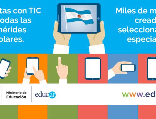 Diseños para el Ministerio de Educación de Argentina